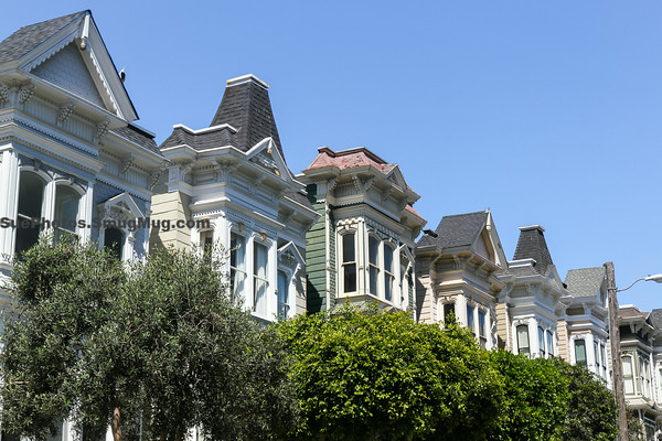 Victorian architecture, Lower Pacific Heights, San Francisco