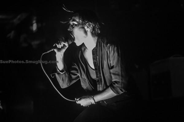 Savages at Paradise Rock Club, Boston, April 1, 2016.